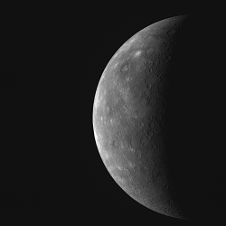 Mercury from MESSENGER's third flyby